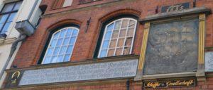 Fassade der Schiffergesellschaft in Lübeck