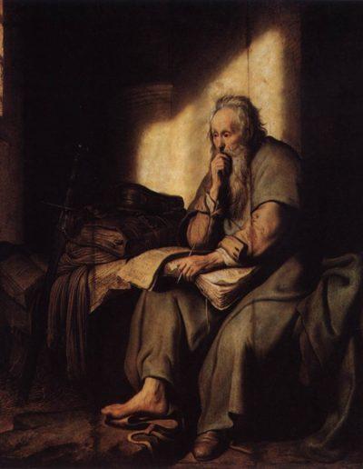 Paulus im Gefängnis 1626