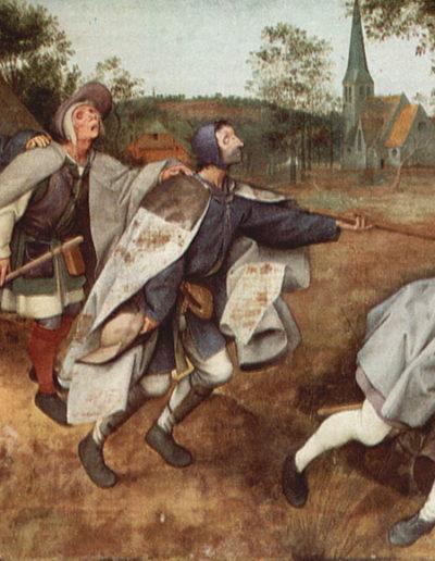 Der Sturz der Blinden - Die Parabel von den Blinden  (Mt 15,14)