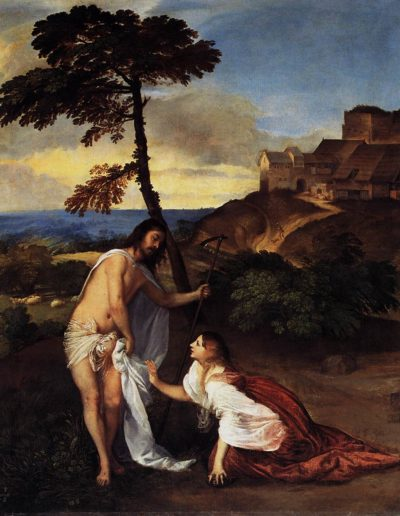 Christus und Maria Magdalena (Noli me tangere)