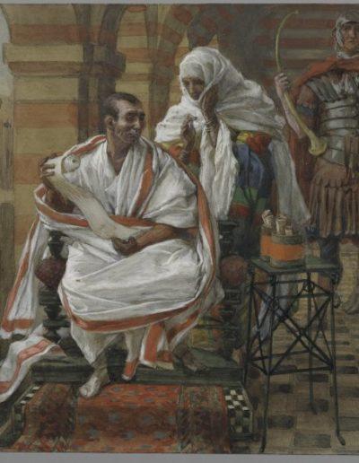 Die Nachricht der Frau des Pilatus