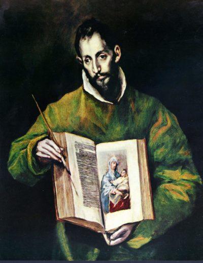 Heiliger Lukas als Maler