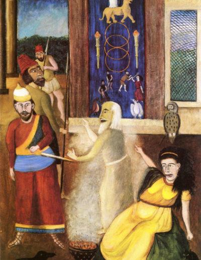 König Saul bei der Hexe von Endor