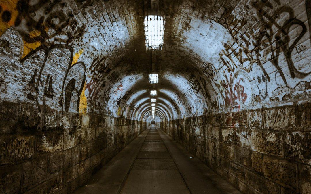 Blick in den Tunnel